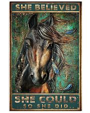 She believed she could  11x17 Poster front