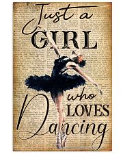 Just a girl 11x17 Poster front