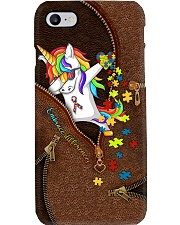 Embrace differences Leather pattern print Phone Case i-phone-8-case