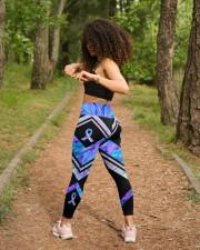 Choose Life High Waist Leggings aos-high-waist-leggings-lifestyle-17