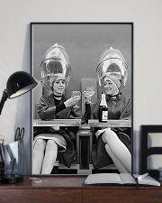 Women at Hair Salon 11x17 Poster lifestyle-poster-2
