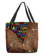 Autism All-over Tote back
