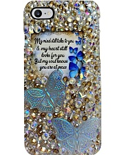 My mind still talks to you Phone Case i-phone-8-case