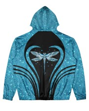 Dragonfly Men's All Over Print Hoodie back
