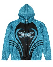Dragonfly Men's All Over Print Hoodie front