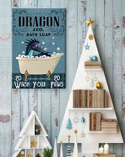 Bath Soap Company Dragon Poster 11x17 Poster lifestyle-holiday-poster-2