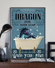 Bath Soap Company Dragon Poster 11x17 Poster lifestyle-poster-2