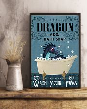 Bath Soap Company Dragon Poster 11x17 Poster lifestyle-poster-3