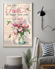 Let your faith be bigger 11x17 Poster lifestyle-poster-1