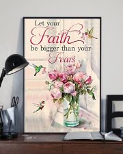 Let your faith be bigger 11x17 Poster lifestyle-poster-2