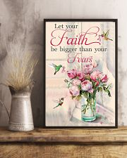 Let your faith be bigger 11x17 Poster lifestyle-poster-3