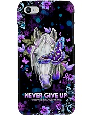 Never give up Phone Case i-phone-8-case