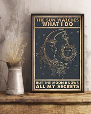 The sun watches what I do 11x17 Poster lifestyle-poster-3
