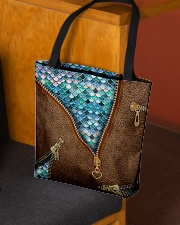 Mermaid tails All-over Tote aos-all-over-tote-lifestyle-front-02