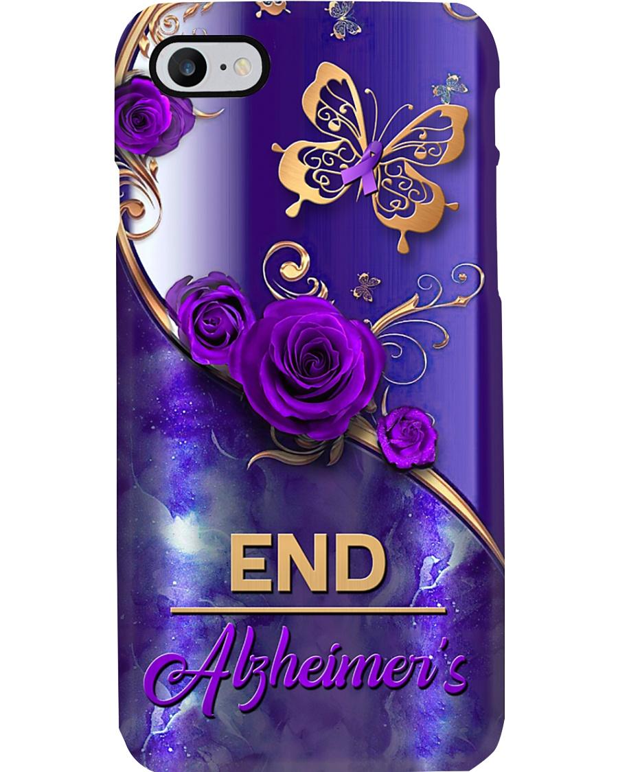 End alzheimer's  Phone Case