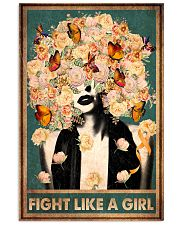 Fight like a girl 11x17 Poster front