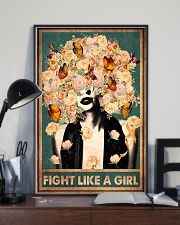 Fight like a girl 11x17 Poster lifestyle-poster-2