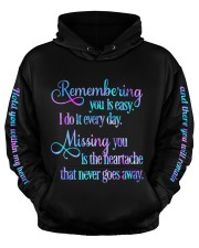 Remembering you Men's All Over Print Hoodie aos-men-hoodie-ghosted-front-03