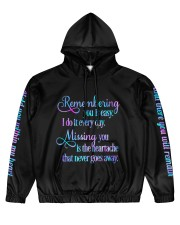 Remembering you Men's All Over Print Hoodie front