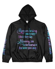 Remembering you Women's All Over Print Hoodie thumbnail