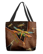 Hello Darkness Leather Pattern Print All-over Tote back