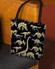 Dinosaur skeletons Haloween All-over Tote aos-all-over-tote-lifestyle-front-02