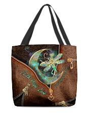 Kidney Disease Awareness Leather Pattern Print All-over Tote back
