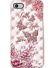 Faith Hope Love - Printed phone case Phone Case i-phone-8-case