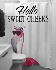 Hello sweet cheeks Shower Curtain aos-shower-curtains-71x74-lifestyle-front-04