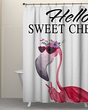 Hello sweet cheeks Shower Curtain aos-shower-curtains-71x74-lifestyle-front-05
