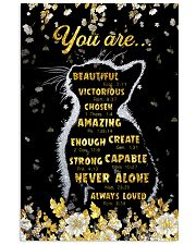God says you are 11x17 Poster front