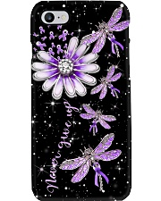 Never Give Up 3D Print Phone Case i-phone-8-case