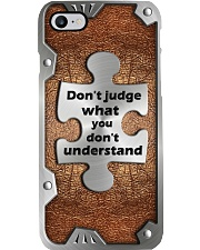 Don't judge what you don't understand Phone Case i-phone-7-case
