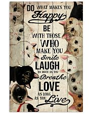Do what makes you happy 11x17 Poster front