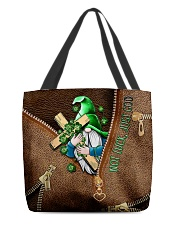 Not luck just god All-over Tote front