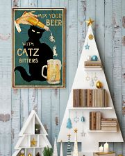 Mix Your Beer with Catz Bitters 11x17 Poster lifestyle-holiday-poster-2