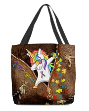 Embrace differences All-over Tote back