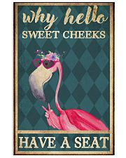 Sweet cheeks have a seat 11x17 Poster front