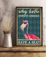 Sweet cheeks have a seat 11x17 Poster lifestyle-poster-3
