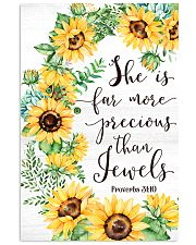 She Is Far More Precious than Jewels 11x17 Poster front