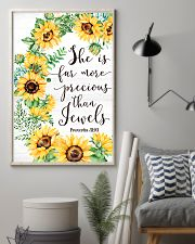 She Is Far More Precious than Jewels 11x17 Poster lifestyle-poster-1