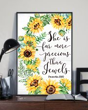 She Is Far More Precious than Jewels 11x17 Poster lifestyle-poster-2