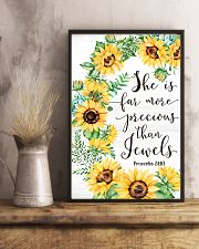 She Is Far More Precious than Jewels 11x17 Poster lifestyle-poster-3