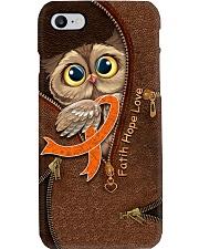 Faith leather pattern printfilein Phone Case i-phone-8-case