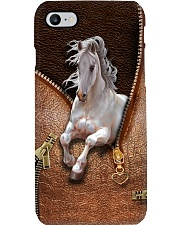 White Horse Phone Case i-phone-8-case
