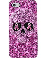 Breast Cancer Awareness - Pattern Print Phone Case i-phone-8-case