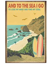 And to the sea I go 11x17 Poster front