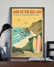 And to the sea I go 11x17 Poster lifestyle-poster-2