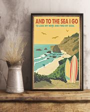 And to the sea I go 11x17 Poster lifestyle-poster-3