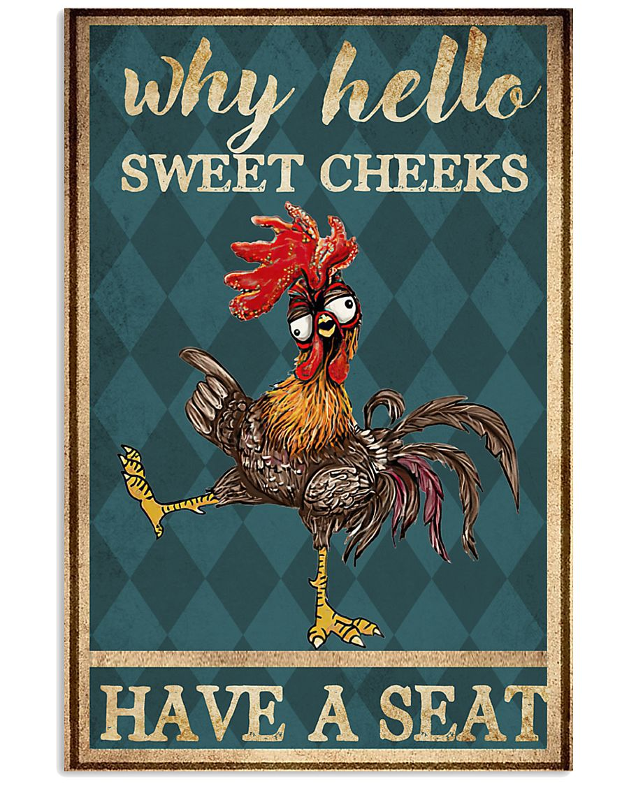 Why hello Sweet Cheeks 11x17 Poster